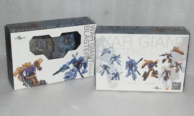 New Iron Factory Transformers IF EX-23 War Giant Blasters Bruticus In Stock