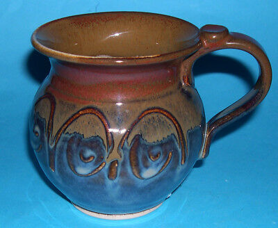 Castle Arch Pottery Kilkenny Ireland - Attractive Quality Jug / Mug (I.D Label).