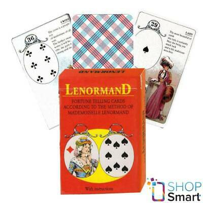Mlle Lenormand Cm 36 Cards Deck Esoteric Fortune Telling Agm New