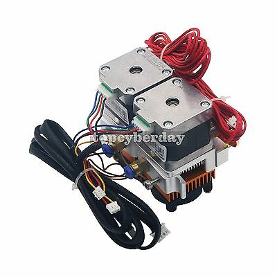 Geeetech 0.3mm f 1.75mm Dual Head Nozzle MK8 Extruder Makerbot Prusa 3D printer