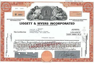 Liggett & Myers (Liggett Group) Incorporated, 1976, L & M Zigaretten (23 Shares)