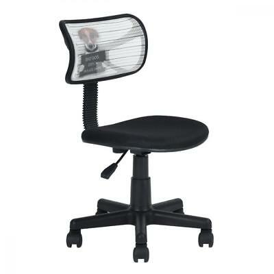 Home Office Mesh Task Computer Chairs Mid Back Swivel Adjustable for...