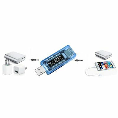 USB Volt Current Voltage Doctor Charger Capacity Power Bank Tester Meter 5N