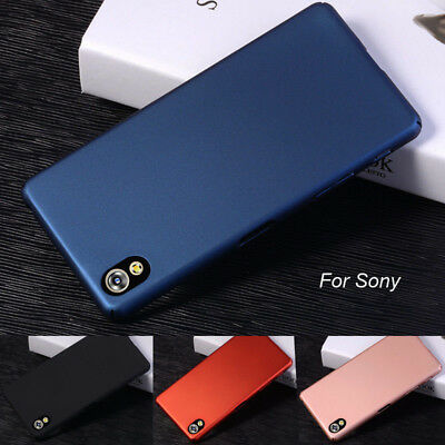 Hard Case Slim Rubberized Matte Thin Phone Back Cover For SONY Xperia X/C6 Ultra
