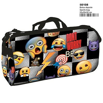 EMOJI STICKER Bolsa de deporte emoticonos / Bolso de viaje/ Sport Travel Bag