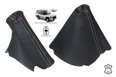 Automatic Hi-Low Handbrake Gaiter For Land Rover Discovery 95-04 Tan Stitching
