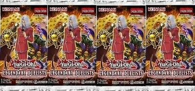 Yu-Gi-Oh! >4 Booster Legendary Duelists: Ancient Millennium< LED2-DE Deutsch 1st