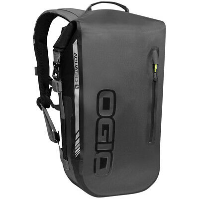 Ogio All Elements Waterproof Street Motorcycle Roll Top Backpack-Stealth