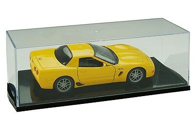 1:24 SCALE DIE CAST CAR SLANT BASE DISPLAY CASE SD24 Brand New Sealed Box Stakbl