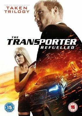 The Transporter Refuelled (DVD, 2015) NEW SEALED PAL R2