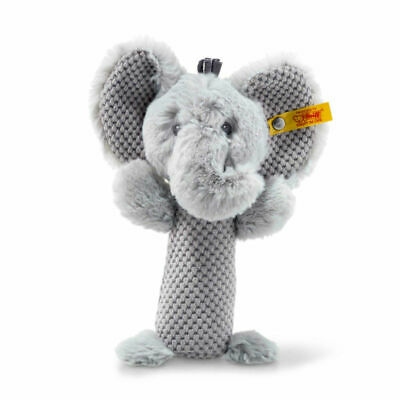 Steiff Soft Cuddly Friends Ellie Elefant Rassel grau