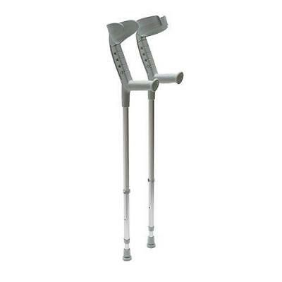 Elbow Crutches - Progress Double Adjustable Elbow Crutches - Open or closed cuff