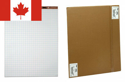 Tops Standard Easel Pads, 3-Hole Punched, 27 x 34 Inch, 1-Inch Grid, White,...