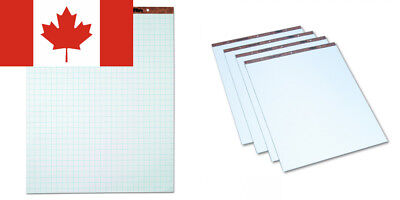 Tops 7900 Drilled Easel Pads, 27 x34, 1-Inch Squares, 50 Bond Sheets per...