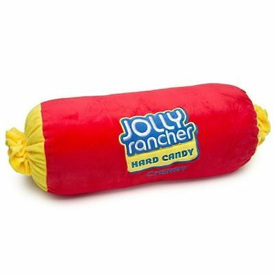 Sweet Novelty Jolly Rancher Red Cherry Large Plush Candy Pillow