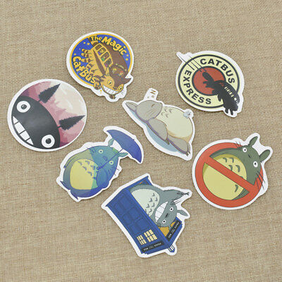 Cute Cartoon Anime Totoro Sticker Decal Phone Car Laptop Waterproof Toy Stickers