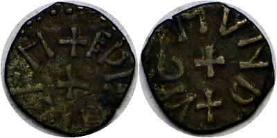 854-867 Anglo-Saxon England Northumbria Bronze Styca Blundered Legends