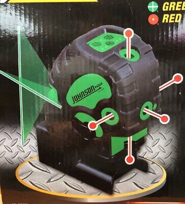 Johnson Self Leveling Combination Laser 40-6688 With Green Cross Line & Red 5dot
