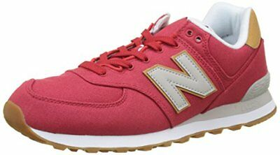 New Balance Ml574v2 Yatch Pack Sneaker Uomo Rosso Red 44.5 EU h1m