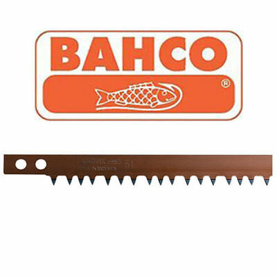 "Bahco Sandvik 51- Hard Point Peg Tooth Dry Cut Bow Saw Blade 12"" 21"" 24"" 30"" 36"""