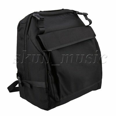 Accordion Soft Case Bag 1200D Oxford Cloth for 96 Bass Instruments