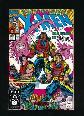 Uncanny X-Men #282 Marvel Comics 11/1991 1St Appearance Bishop **unpressed**