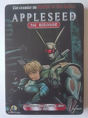 Appleseed The Beginning Edición Especial - Steelbook - 2 Dvd - Español English