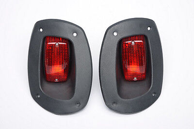 EZGO RXV Golf Cart 2007'-Newer LED Taillights, (2) Tail light kit replacements