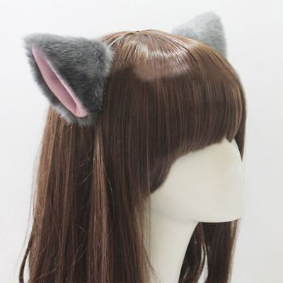 Lovely Costume Neko Cosplay Orecchiette Ear Cat Ears Party Hair Clip