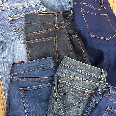 20lbs Wholesale Womens Jeans Lot Assorted Brands Sizes Used Reseller Lot