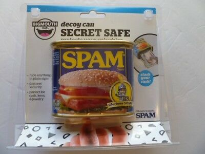 Bigmouth Decoy Can, Secret Safe, Spam Can, Hide Valuables, New in Box