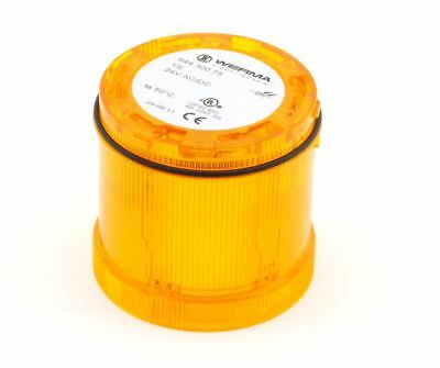 Werma 64430075 LED Continuous Light Yellow 70mm Signal-Element 24V AC/Dc 7W