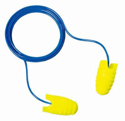 3M E-A-RSOFT GRIPPERS EAR PLUGS, CORDED, 312-6001, 15 Pack
