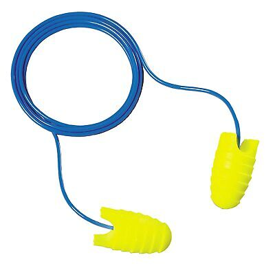 3M E-A-RSOFT GRIPPERS EAR PLUGS, CORDED, 312-6001, 25 Pack