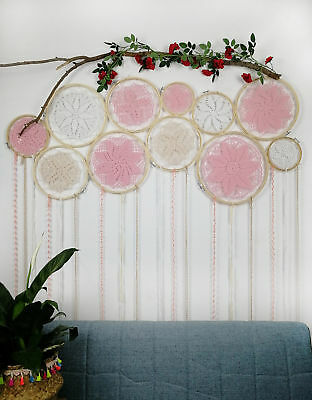 DIY Large Doily Dreamcatcher Set Boho Dream Catcher Home Decor Wedding Backdrop