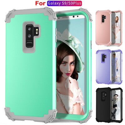Thin Durable Shockproof Hybrid PC Armor Case Cover for Samsung Galaxy S9/S9 Plus