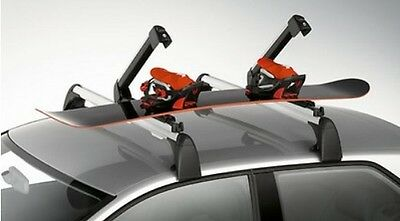 New Genuine Audi Accessory Thule 6 Ski 4 Snowboard Holder For Roof Bars