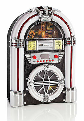 jukebox radio mit cd usb sd slot mp3 eur 75 00. Black Bedroom Furniture Sets. Home Design Ideas