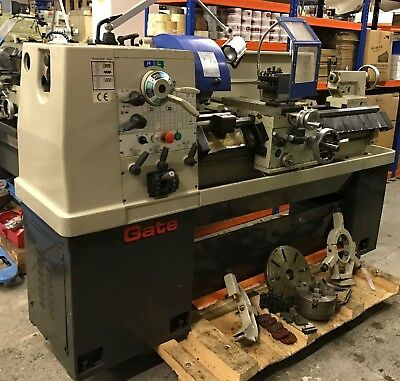 Used Ex College Gate G-340C Lathe With Taper Turning Attachment Good Condition