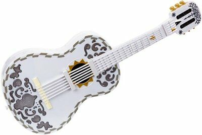 Disney Pixar Coco Toy Guitar with Lights, Sounds & Songbook Toy Playset