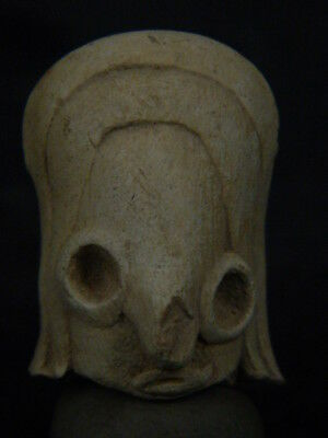 Ancient Indus valley Teracotta Head C.2500 BC   #T968#