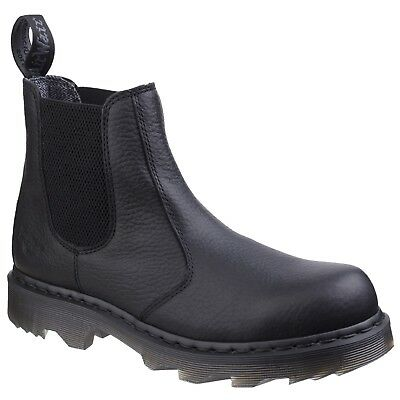 96329fa31fd7 DR MARTENS 8250 BROWN - Mens Chelsea Work Boots - Non Safety ...