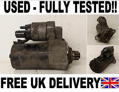 Vw Caddy Iii Box Starter Motor 1.9 Tdi 2004 2005 2006 2007 2008 2009 2010