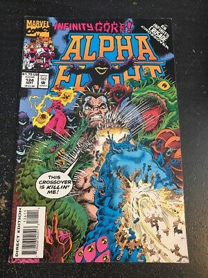 """Alpha Flight#124 Awesome Condition 7.0(1993)""""Infinity Crusade"""" Cool!!"""