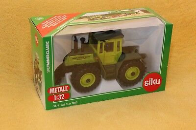 Siku Farmer Classic 3477 MB Trac 1800 intercooler Metall 1:32