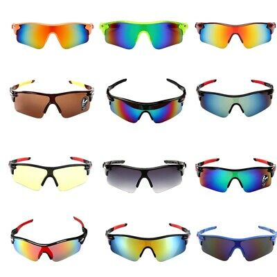 Sport Cycling Sunglasses Goggles Bicycle Riding Driving Outdoor UV400 Glasses