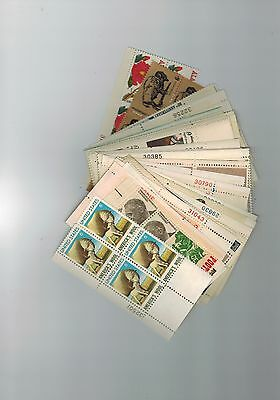 A lot of 50 6 cent all different Plate blocks of 4 MNH OG