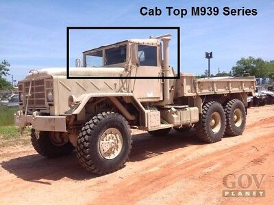 CAB TOP Soft M939 SERIES 5 TON MILITARY TRUCKS 3 COLOR CAMO M931 M923 M925 M929