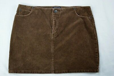 Women's Clothing Clothing, Shoes & Accessories American Eagle Straight Stretch Skirt Corduroy Khaki Brown Size 6