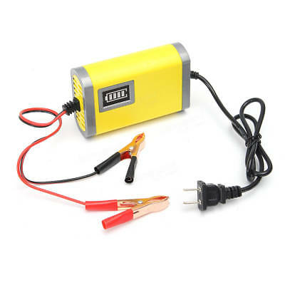 12V 2A Car Motorcycle Boat Smart Battery Charger Automatically shut down UK/EU